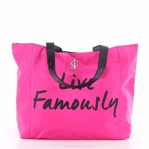"""Juicy Couture """"Live Famously"""" Collectible Tote"""